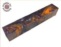 Sunset - Divine Island alumilite pen blank